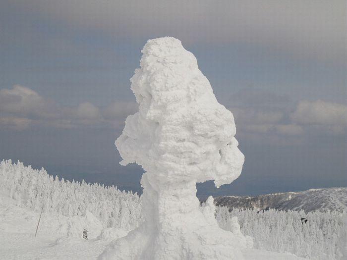 Все в снегу