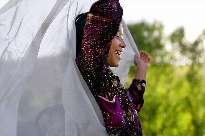 Афганские жены (8 фото)