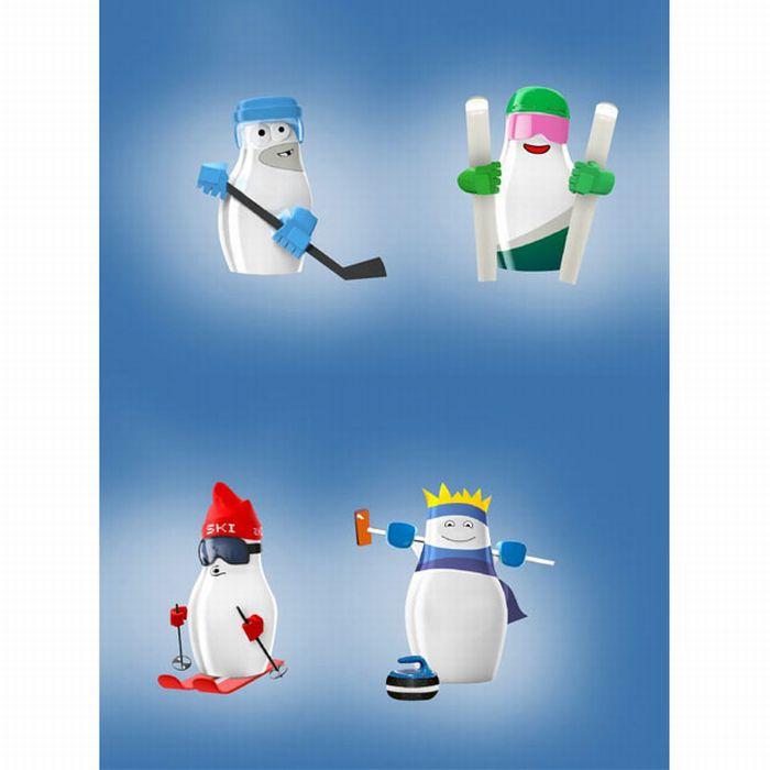 Талисман Олимпийских игр (11 фото)