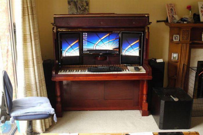 Необычное пианино (6 фото)
