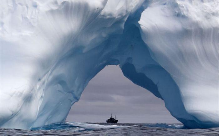 Красивые айсберги (37 фото)