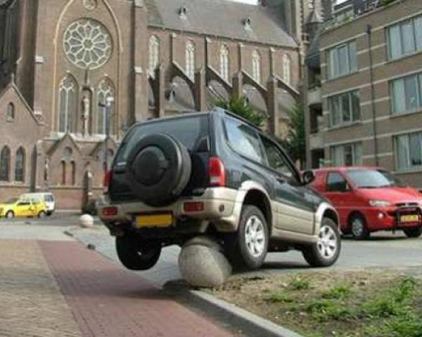 Неудачная парковка (47 фото)