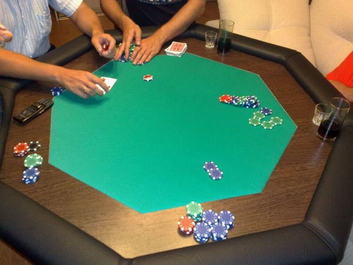 Как сделать стол для покера (16 фото)