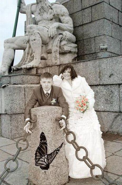 Провальные свадебные фотографии (61 фото)