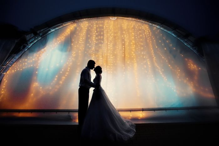 Красивые свадебные фотографии (111 фото)