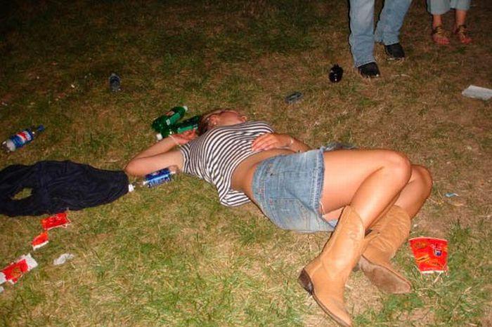 пьяные девушки очереди