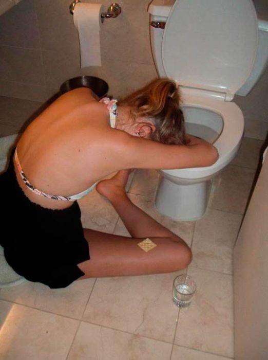 Бывшая пьяная подруга