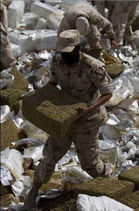 Сжигание марихуаны (13 фото)