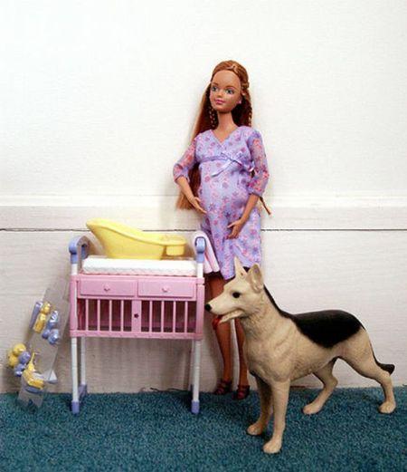 Беременная подружка Барби - Мидж (18 фото)