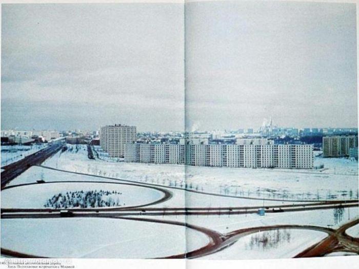 МКАД времен СССР (32 фото)