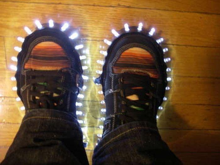 Необычные кроссовки (9 фото)