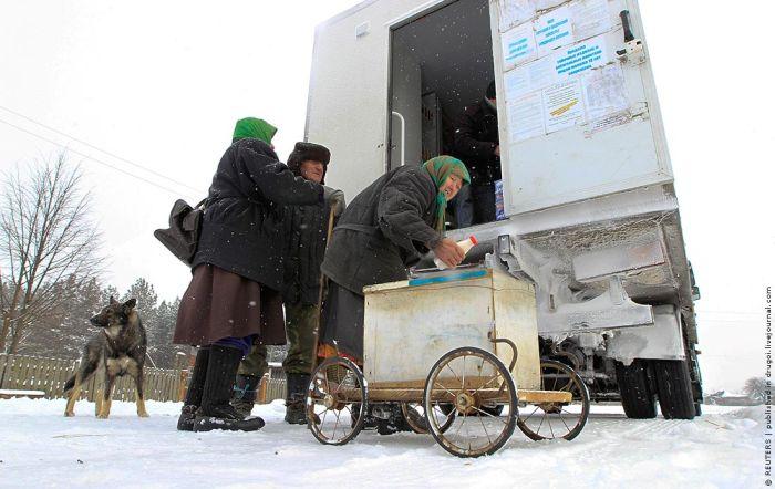 Зона отселения в Белоруссии (10 фото)