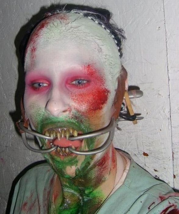 грим для фильмов ужасов фото