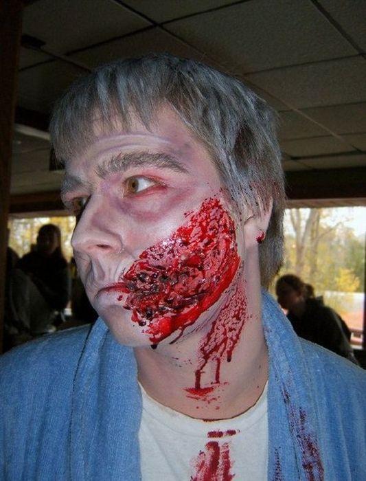 Грим для фильмов ужасов (21 фото)