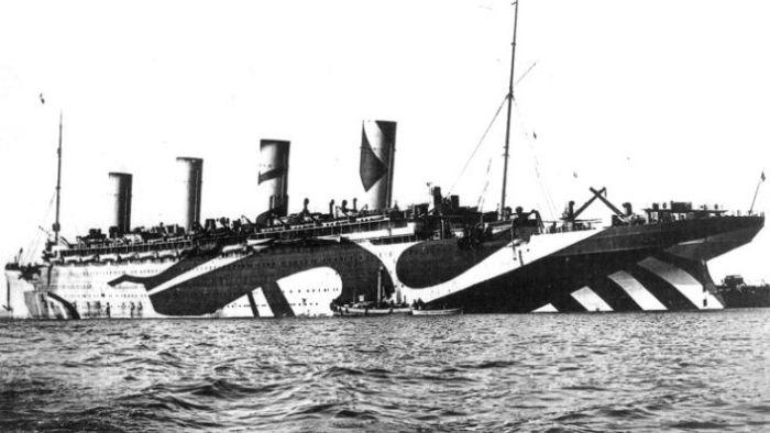 Камуфляж для кораблей (16 фото)
