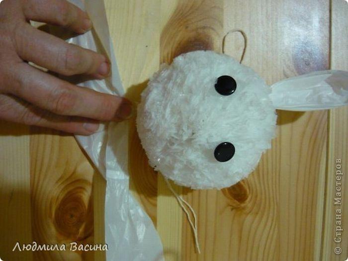 Кролик, сделанный своими руками (24 фото)