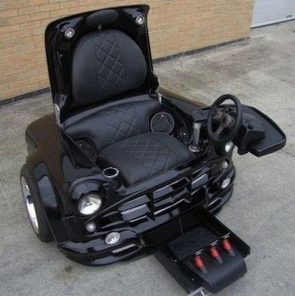 Классное компьютерное кресло (3 фото)