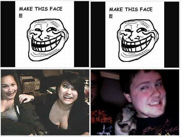 Сделай такое лицо (6 фото)