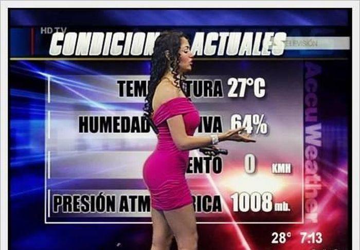 Прогноз погоды в Южной Америке и на Ближним Востоке (9 фото)