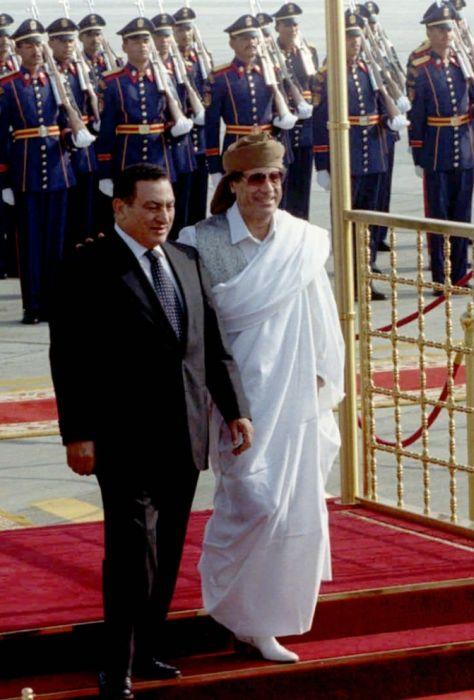 Как менялся Муаммар Каддафи (24 фото)