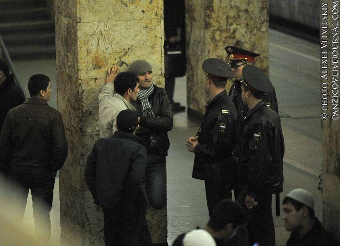 полиция и гастарбайтеры