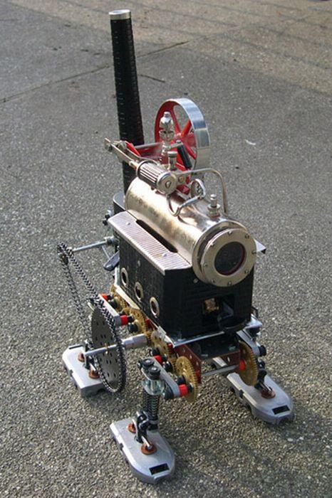 Стимпанк модели (21 фото)