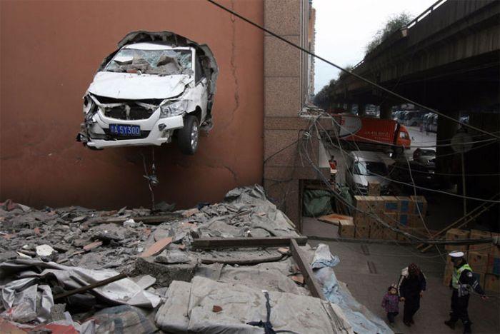 Как не надо парковаться (5 фото)