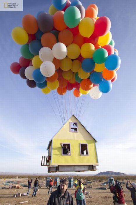 Летающий дом (14 фото)