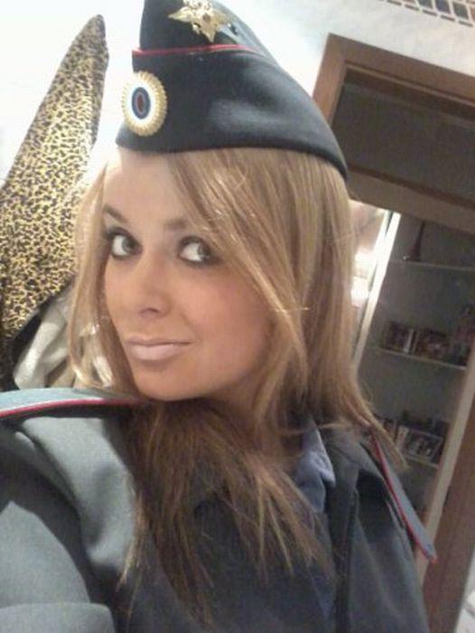 Самая гламурная будущая полицейская России (36 фото)