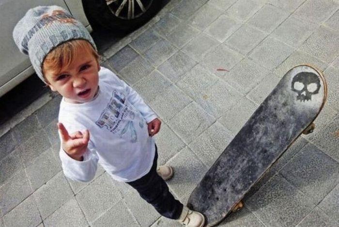 Забавные и смешные фотографии детей (23 фото)