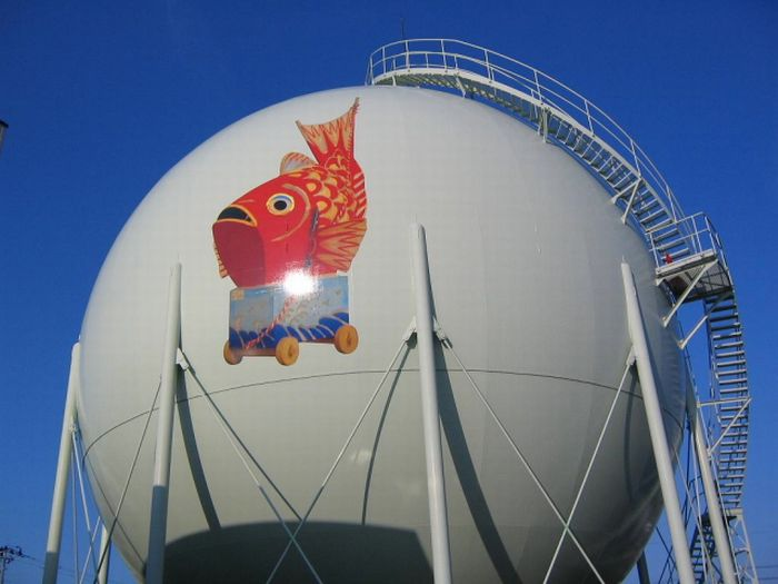 Газовые хранилища Японии (21 фото)