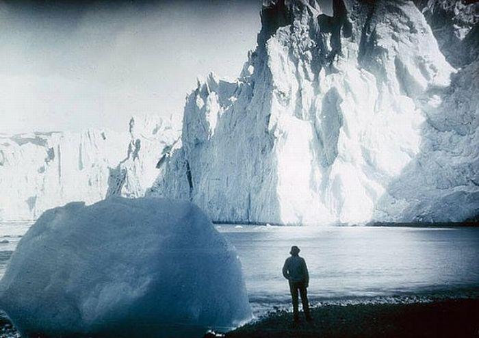 Цветные ретро-фото Антарктиды (19 фото)