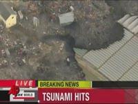 Землетрясение и цунами в Японии (8 видео)