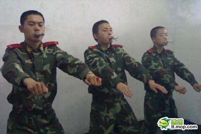 Бросаем курить по-китайски (6 фото)