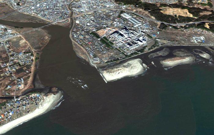 Япония до и после цунами (42 фото)