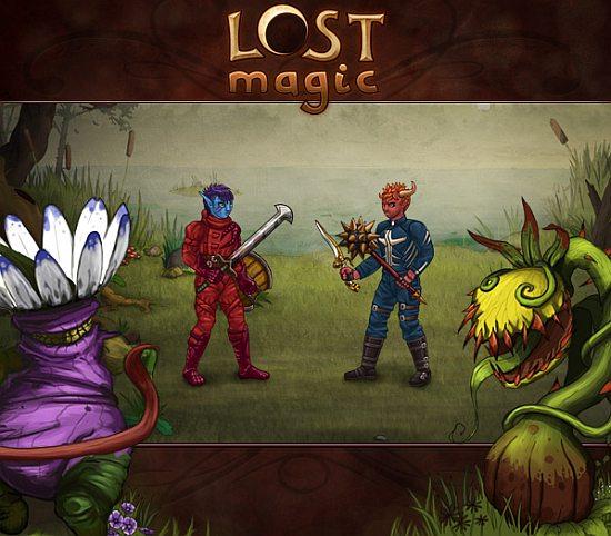 Lost Magic - самая красочная браузерная игра