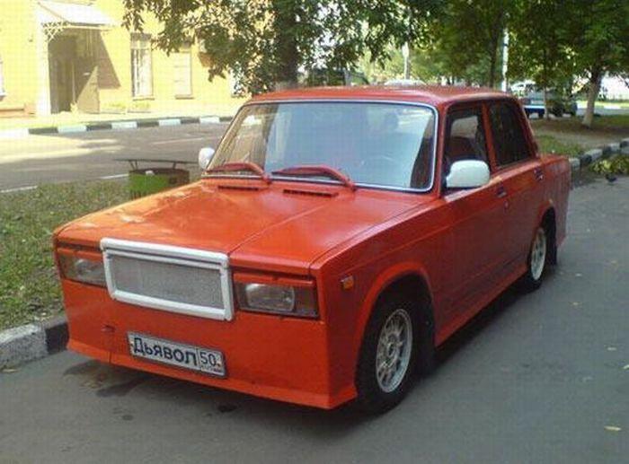 Русский тюнинг (68 фото)