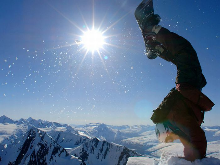 Сноуборд (12 фото)