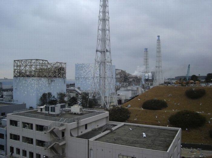 Атомная электростанция «Фукусима-1» (40 фото)