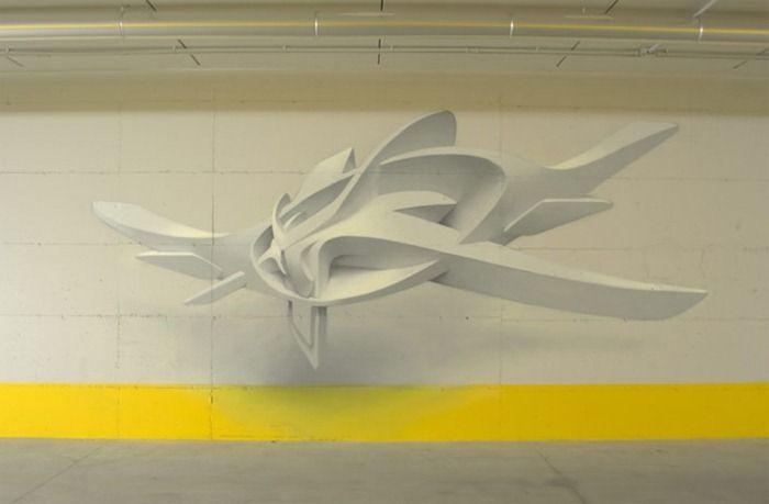 3D граффити (8 фото)