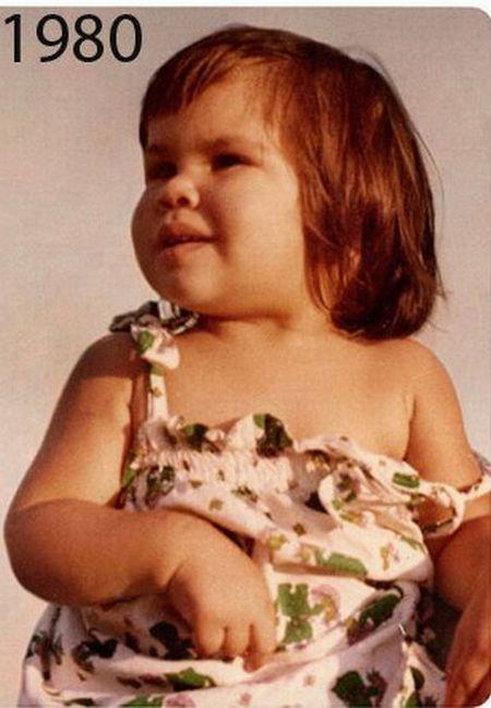 Девочка выросла... (2 фото)