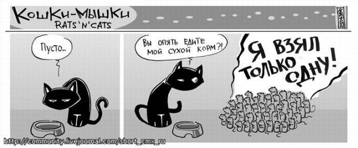 Кошки-мышки (44 картинки)