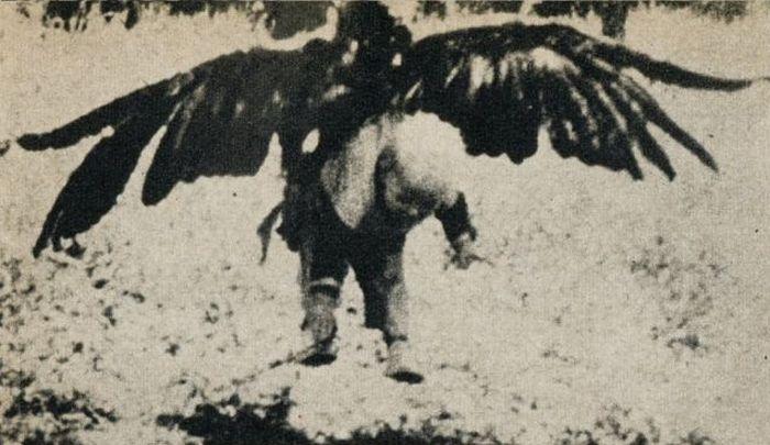 Орел и ребенок (3 фото)