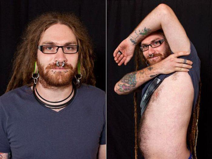 Фестиваль необычных татуировок (24 фото)