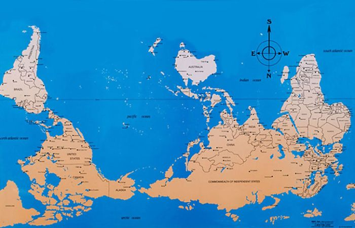 Карты разных стран (10 фото)