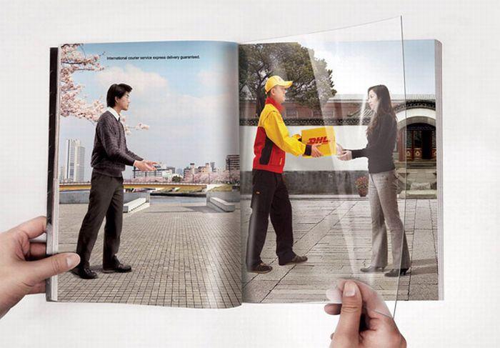 Реклама на развороте (39 фото)