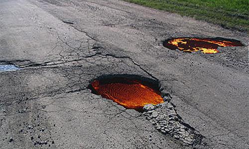 Дорожный розыгрыш (4 фото)