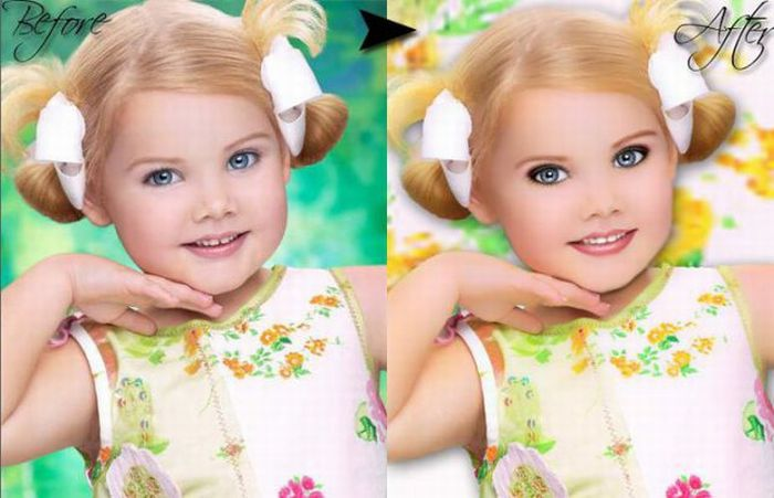 Как сделать из ребёнка модель