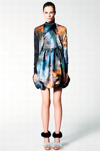 Новая мода – фотографии вселенной на одежде (46 фото)