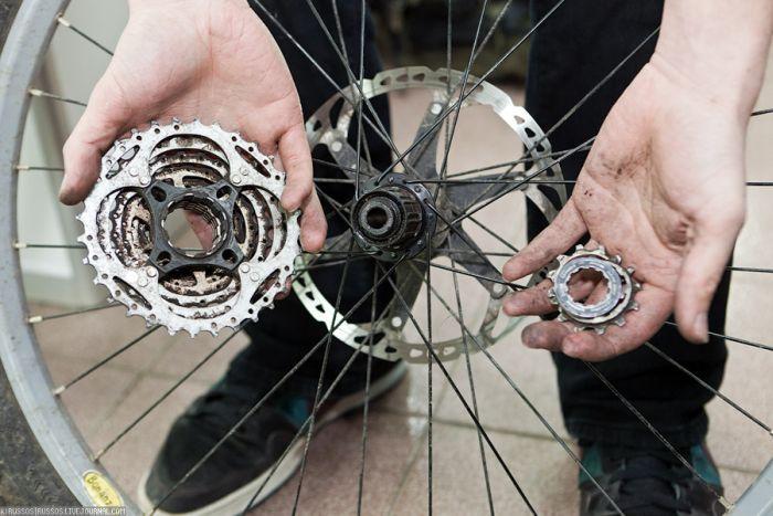 Бонки для велосипеда сделать самому